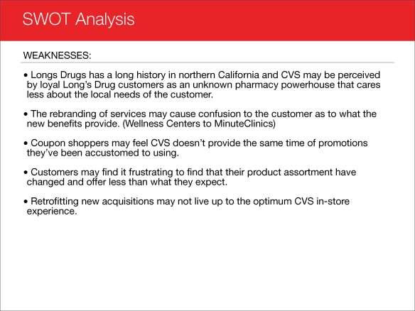 CVS SWOT Analysis   Joseph Abbati