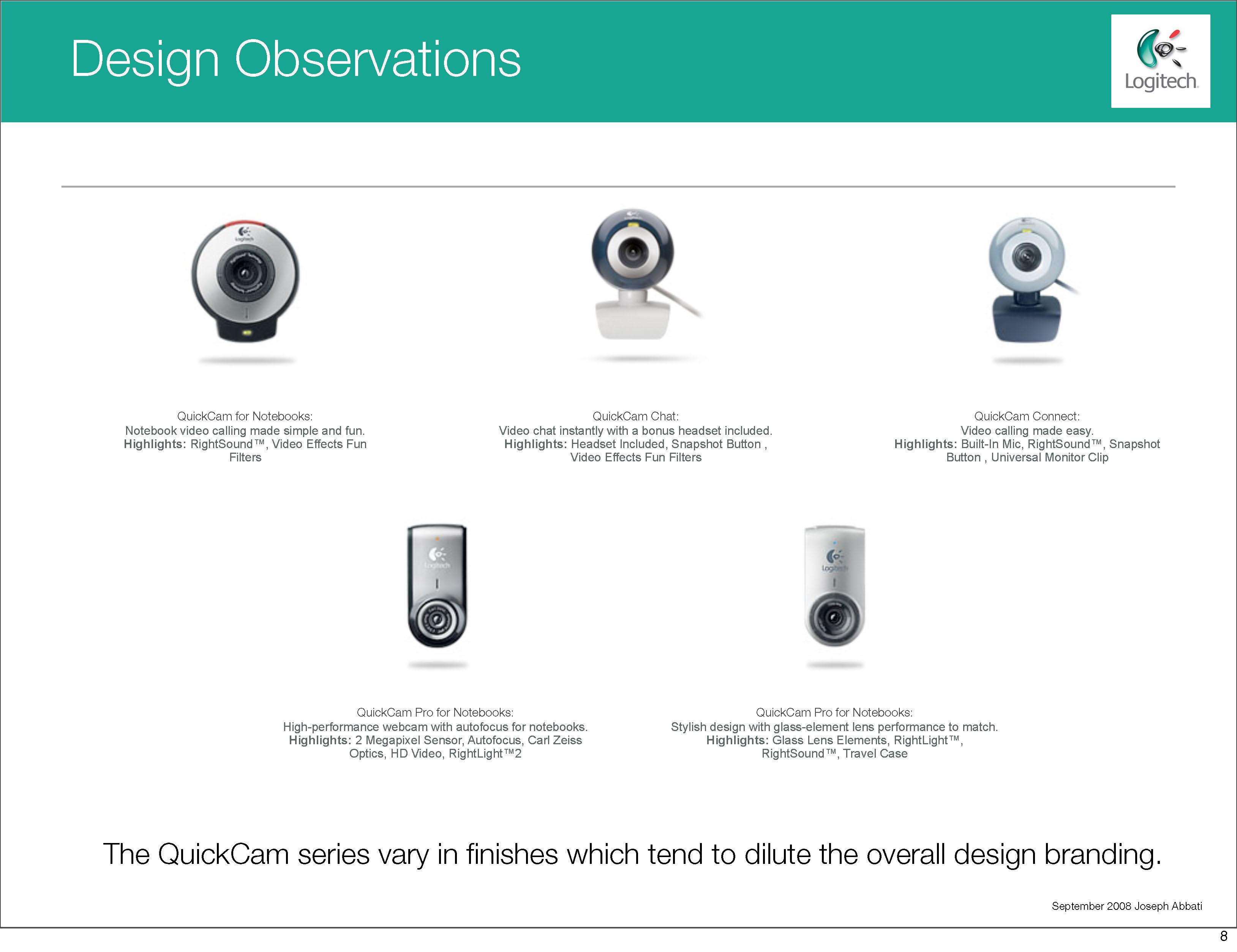Logitech Swot Analysis Joseph Abbati Quickcam Wiring Diagram