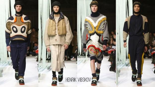 Henrik Vibskov FW14 Menswear