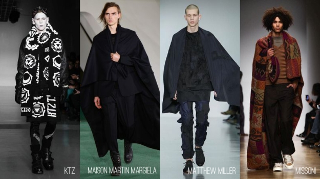 Mens Blanket Capes 2