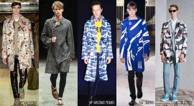 Trend-Pattern Coat