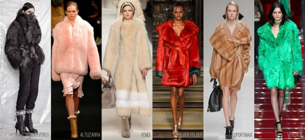 Fall 2015 fur coats