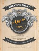 Brad's Brau - Apt 39 Label